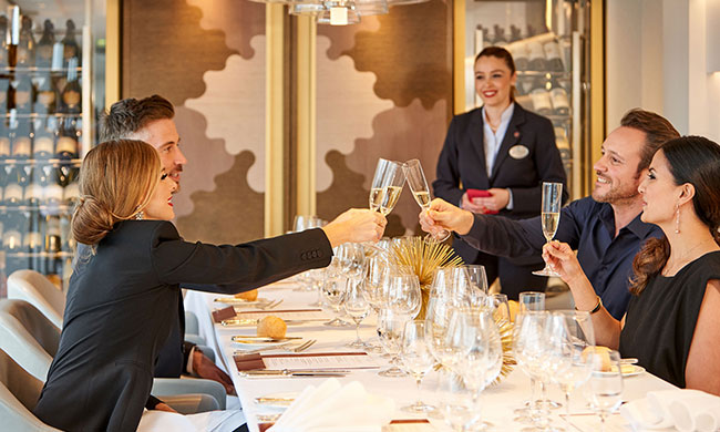 crystal cruises - regional cuisine - dining - on board attractions